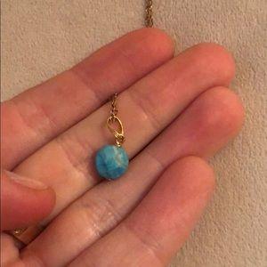 Jewelry - Blue Pendant Necklace